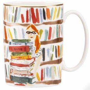 "Kate Spade ""Library Books"" Mug"